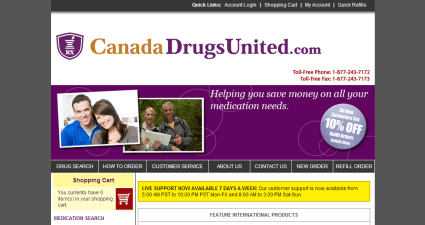Canadadrugsunited.com