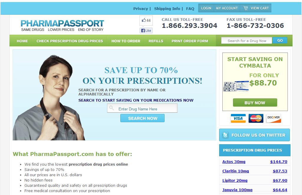 Pharmapassport.com