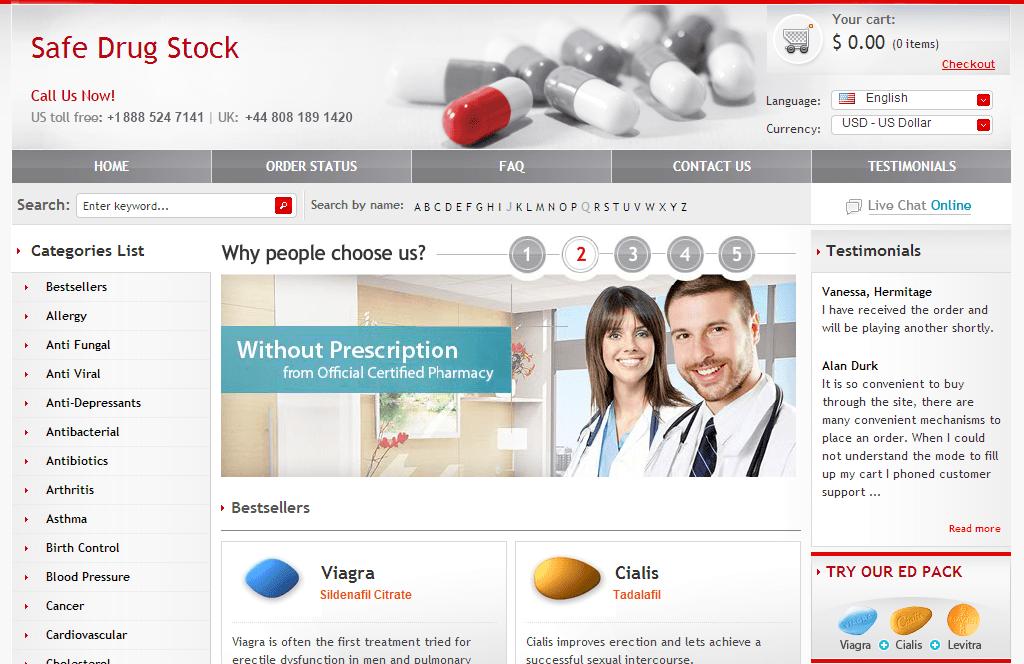 Safedrugstock.com