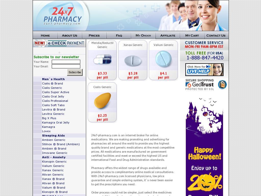24x7-pharmacy.com Review
