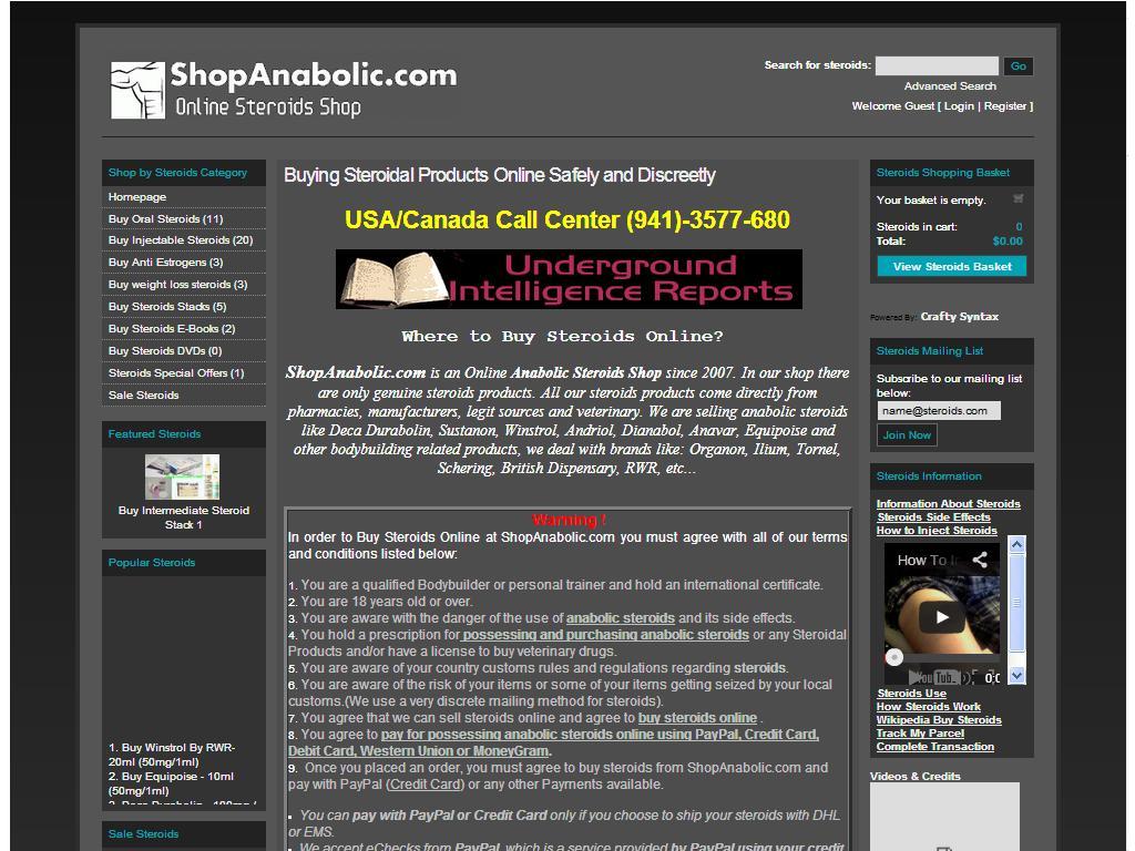 Shopanabolic.com Review