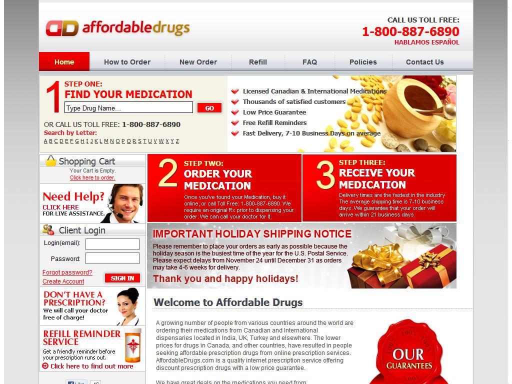Affordabledrugs.com Review