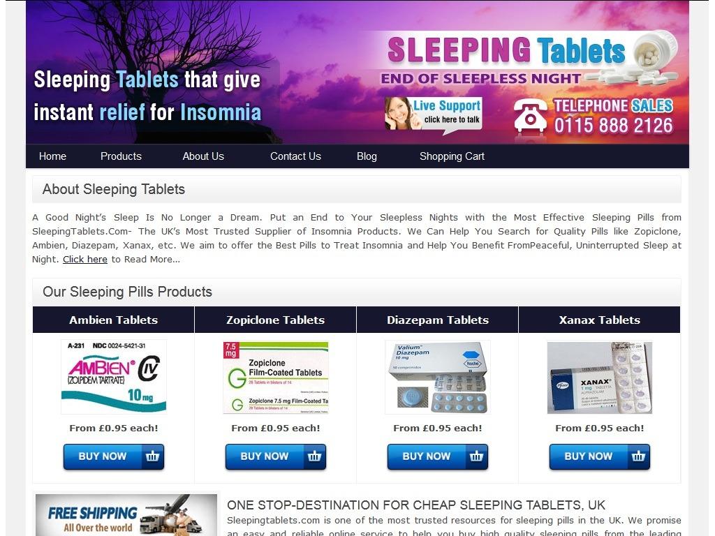 Sleepingtablets.com Review