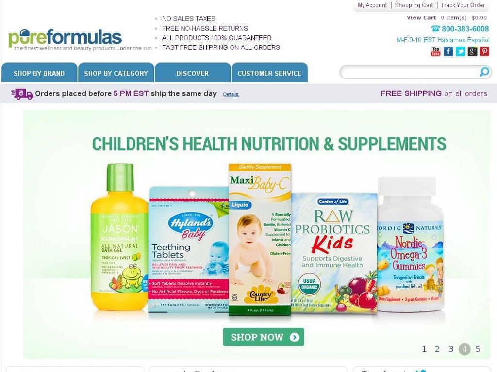 Pureformulas.com Review