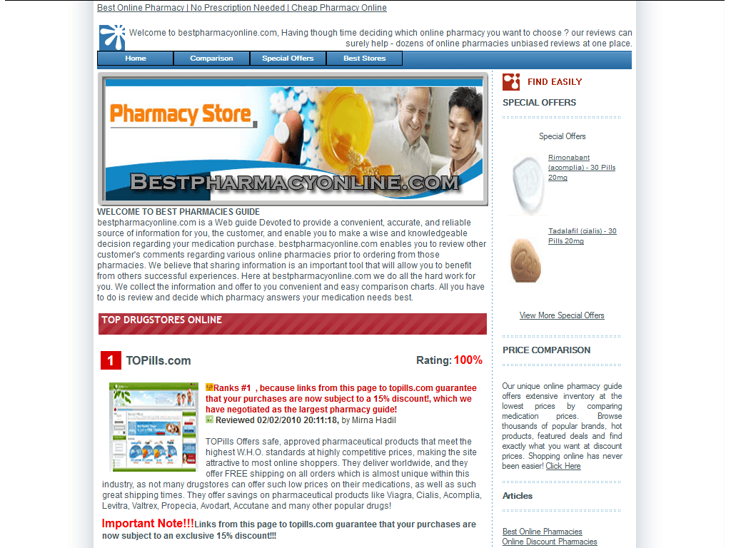 Best Online Priligy Pharmacy Reviews
