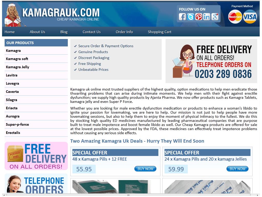 Kamagrauk.com Review