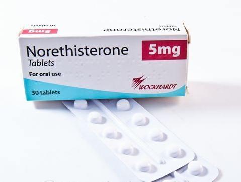 delay menses medication