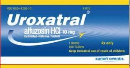 Uroxatral User Reviews