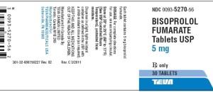Bisoprolol Fumarate 5 MG Teva