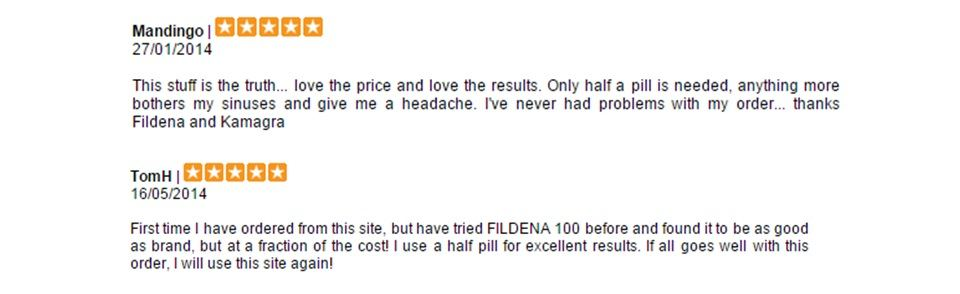 Fildena Review