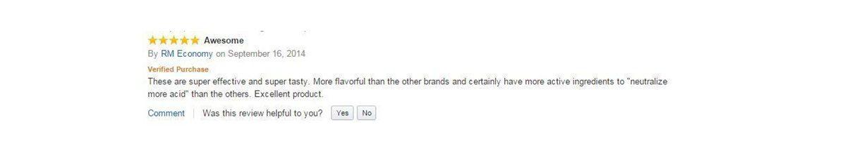 Rolaids Customer Review