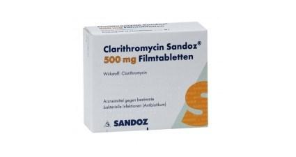 Clarithromycin 500mg