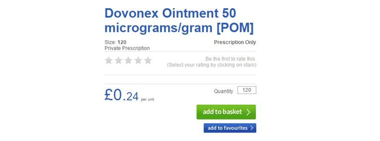 Daivonex Cream Pricing