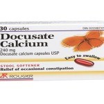 Docusate Calcium Reviews Avoiding Constipation