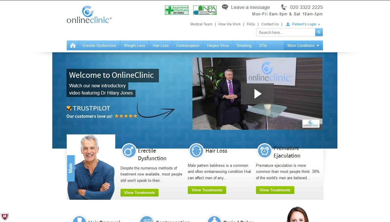 Onlineclinic Reviews – A UK Based Online Pharmacy With High