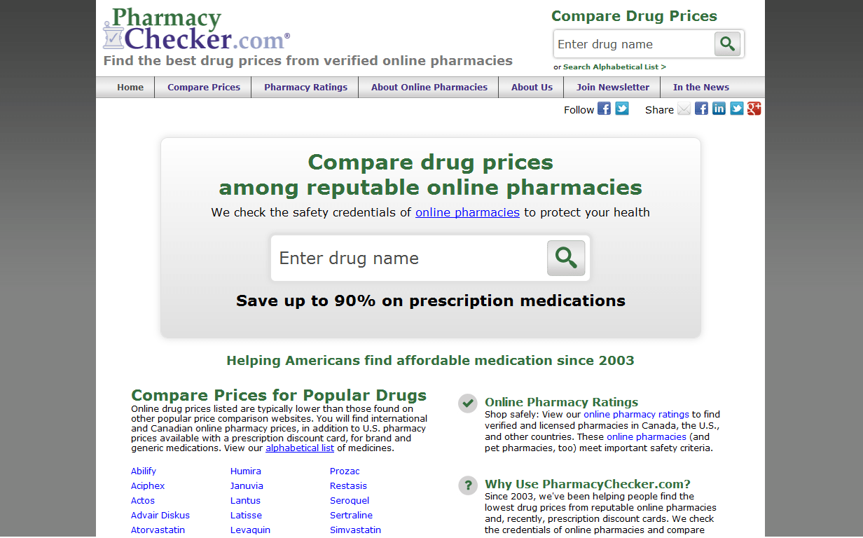 pharmacychecker reviews resource which tries to approve online pharmacies sites - Best Prescription Discount Card Reviews