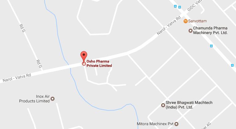 Osho Pharma Location