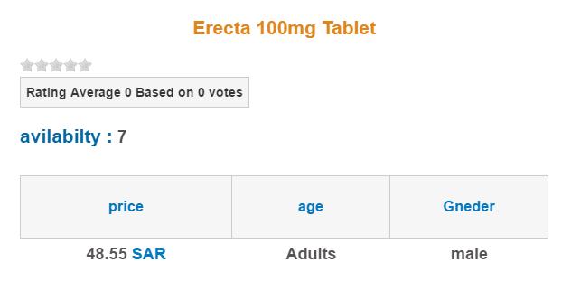 Erecta Price