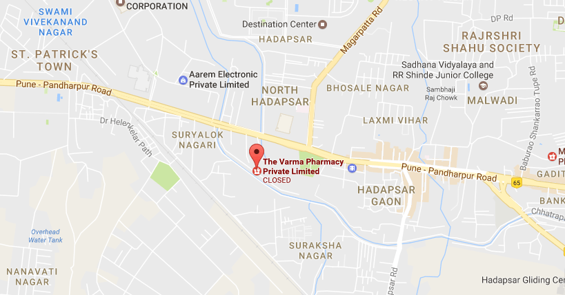 Varma Pharmacy Location
