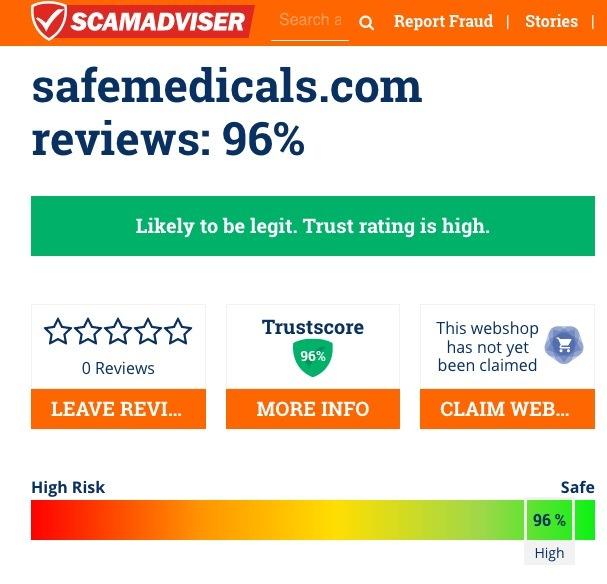 Safemedicals.com review