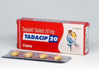 Tadacip 20mg Tablets