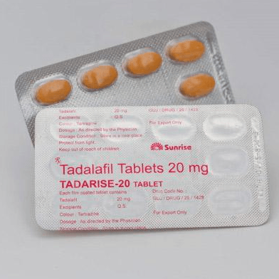 Tadarise 20mg Buying Guide