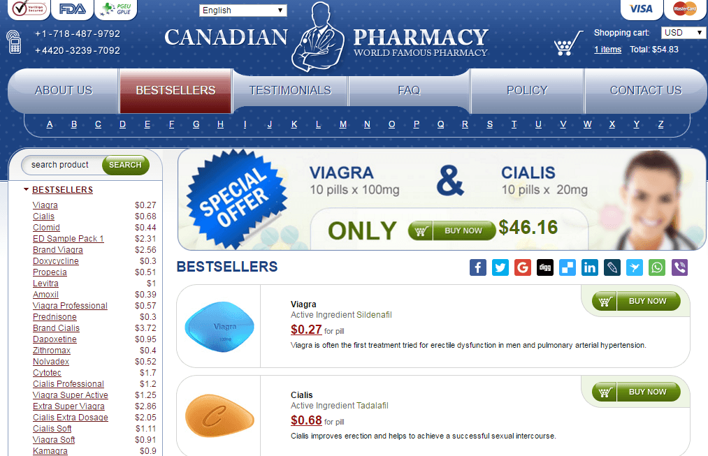 Canadian-pharma com Review: Where FDA Drugs are Easy to Come By