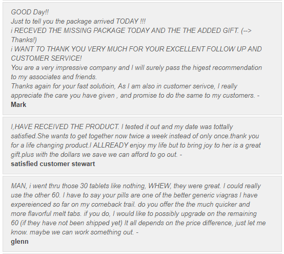 Trusted Tablets Customer Reviews