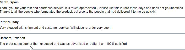 Online Pills Reviews