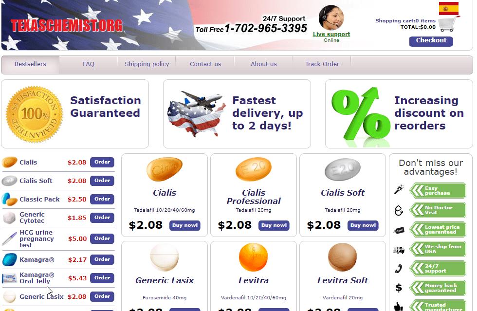 Texaschemist Homepage