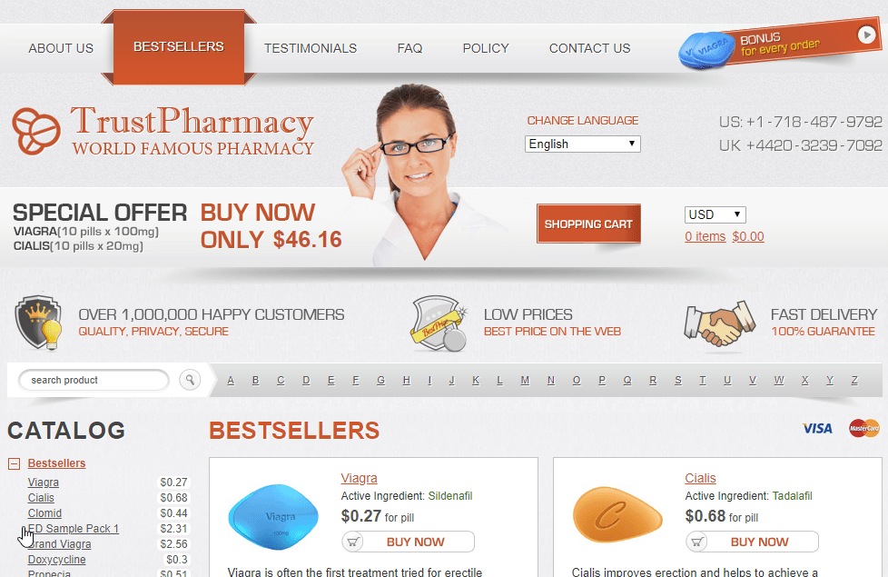 Good Pills Websites Main Page