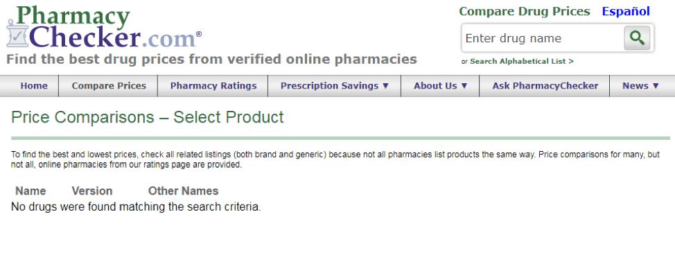 Alpha Omega Pharmacy PharmacyChecker