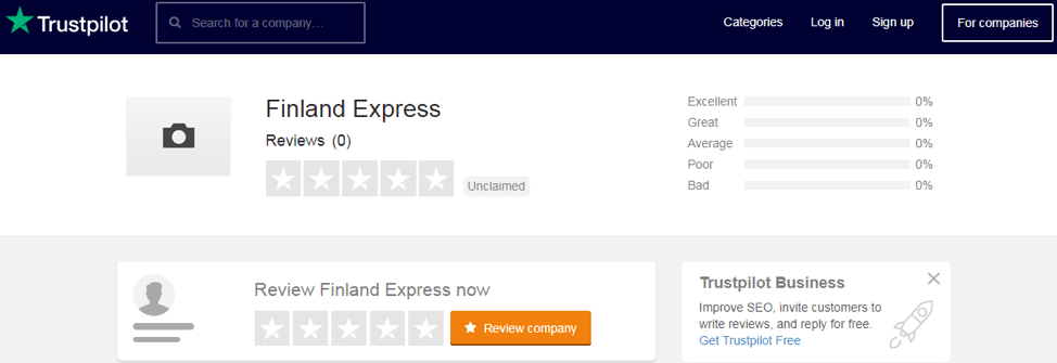 finland-express.com trustpilot