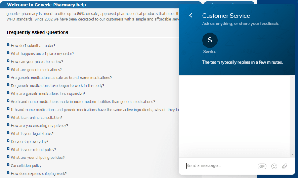 generic-pharmmacy.com faq