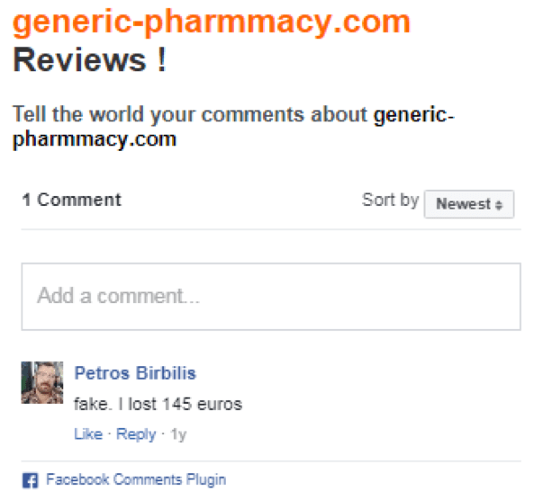 generic-pharmmacy.com reviews