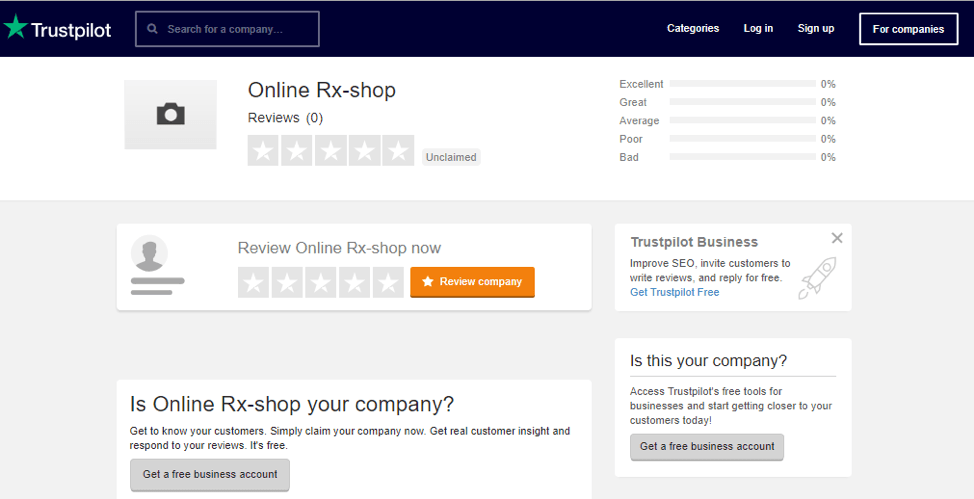 US Pharmacy Trustpilot