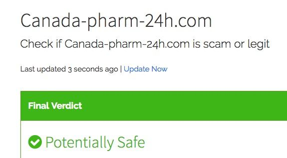 Canada-pharm-24h.com Review 2019