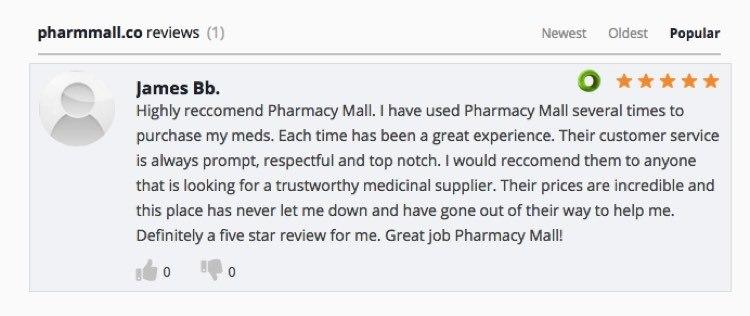 PharmacyMall Reviews 2019
